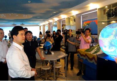 未来教室 走进北京中央民族大学附属中学
