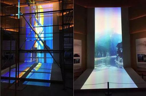 松下工程投影机打造奉节夔州博物馆震撼文化项目