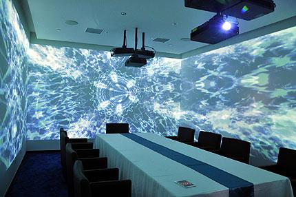 索尼激光工程投影应用大挑战--沉浸式餐厅篇