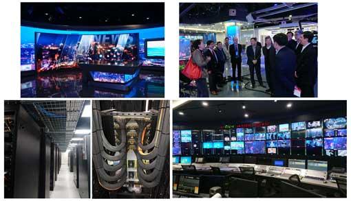 索尼总系统集成广东广播电视台全新融媒体高清演播室群上线图片
